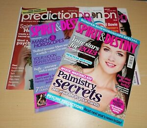 Spirit And destiny /Prediction Magazines Bundle X7