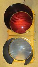 "12"" Poly McCain 2 section LED BALL Traffic Signal Light"