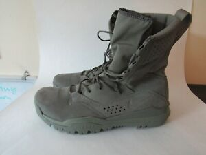 """Nike SFB Field 2 8"""" Military Tactical Boots Sage Green AO7507-201 Size 12.5"""