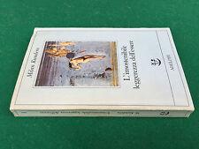 Milan KUNDERA - L'INSOSTENIBILE LEGGEREZZA ESSERE , Adelphi Fabula (1985) Libro