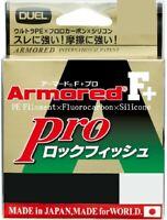 Duel Armored F+ Pro Rock Fish 150m 25lb #1.5 Dark Brown 0.210mm Braid Line