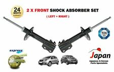 FOR TOYOTA YARIS VITZ 1.0 1.3 1.4 1.5 2005-> 2 FRONT LEFT + RIGHT SHOCK ABSORBER