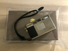 Minolta Tc-1 Point & Shoot 35mm film camera with box and papers