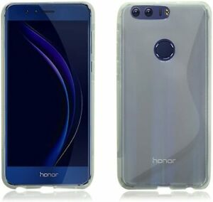 Case for Huawei Honor 8 Clear Silicone Ultra Slim Gel Cover