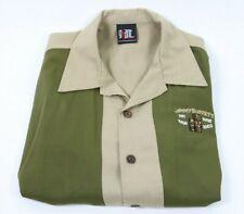 VTG Hand Made Giant Jimmy Buffett Concert Tour 2003 Tiki Time Shirt Polo Large L