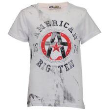 T-shirts, hauts et chemises à longueur de manches manches 3/4 en polyester pour fille de 2 à 16 ans