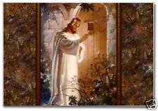 "Jesus Christ, Jesus knocking at the door, Souvenir 2"" x 3"" Fridge Magnet R1101"