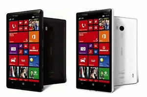 "Verizon Original Nokia Lumia Icon 929 32GB 4G LTE 20MP 5.0"" Smartphone Unlocked"