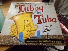 "Walt Disney - Tubby the Tuba - Sword in the Stone - 12"" Vinyl LP - DG 1287"