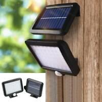 56 LED Solar ABS Flood Lamp Outdoor Garden Light PIR Motion Outdoor Sensor
