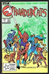 MARVEL STAR COMICS THUNDERCATS #1 - SECOND PRINT - DIRECT ISSUE