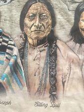 2013 The Original Founding Fathers Bull, Joseph, Cloud, Geronimo Adult T-shirt M