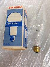 100A23/20 Commercial Oven Light Bulb 100 Watt A23 Sylvania/USA #13280 2-pcs