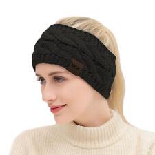 Autumn Winter Cross Knitted~Headband Headgear Elastic Wool Sports Hair Band SS