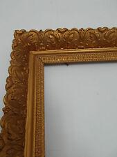 CADRE ANCIEN XXe  DORE ANNEE 50   Feuillure: 66  X  47,3 cm Frame