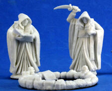 1 x CERCLE CULTIST - BONES REAPER miniature figurine jdr d&d circle cult 77351