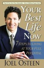 YOUR BEST LIFE NOW Joel Osteen NEW Paperback BOOK Christian RELIGION 7 Steps