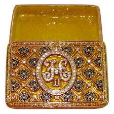 Coffret Couronnement monogramme Nicolas II Tsar de Russie Coffret collection