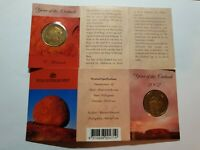 """2002 $1.00 Coin Year Of The Outback """"RAM FOLDER C MINT MARK""""."""
