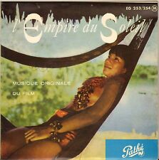 "A.F. LAVAGNINO ""L'EMPIRE DU SOLEIL"" LATIN B.O. FILM 50'S DOUBLE EP PATHE 253/254"