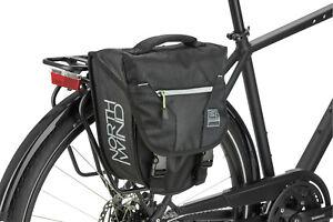 NORTHWIND CLASSIC Fahrradtasche Gepäckträgertasche Einzelpacktasche schwarz lime
