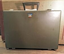 Ultra Rare HTF Schwinn Vintage Leather Fan File Legal Briefcase movie prop#316