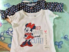 Jumping Beans Disney Shirt 12 month MRSP $12 and body suite 3 month MRSP $34