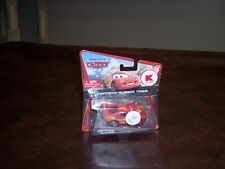 DISNEY - PIXAR- CARS 2- LIGHTNING MC QUEEN- KMART- RUBBER TIRES- NICE CARD- NEW