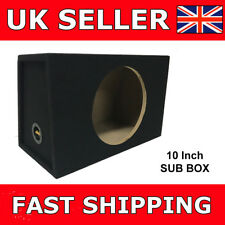 10 Inch Sub Box Subbox Subwoofer Sealed Enclosure 10 Inch Box For Sub Brand NEW