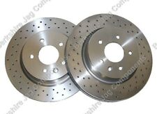 JAGUAR XKR  BREMBO / R PERFORMANCE REAR BRAKE DISCS JLM21748 330MM