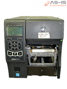 *AS-IS* Zebra ZT410 Industrial Thermal Transfer Ethernet, USB, BT Printer (#7)