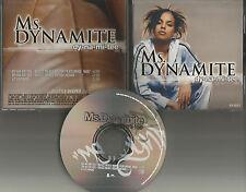 MS. DYNAMITE w/ NAS & SWIZZ BEATZ  Dy-na-mi-tee REMIXES PROMO DJ CD Single ms