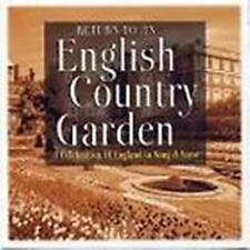 Return To An English Country Garden.NEW CD