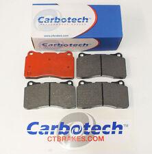 Carbotech XP10 Track Day/Racing Brake Pads Fits Subaru Impreza Brembo WRX STi