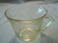 Hazel Atlas  Florentine # 2 -  Poppy #2 - TeA Cup - Depression 1930's