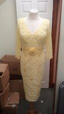 Veni Infantino Mother of the Bride 991019 Yellow Lemon Beaded 14 BRAND NEW £520