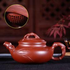 limited stock real yixing zisha dahongpao clay tea pot ball infuse holes marked