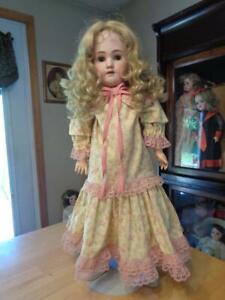 "Antique Heinrich Handwerck/Simon & Halbig Doll~25""~"
