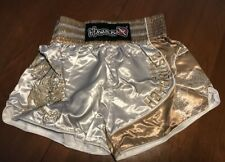 Hayabusa Muay Thai Shorts - Gold Small (30) - Free Shipping