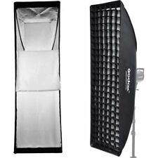 Godox 30x120cm Rechteck Bowens Berg Softbox mit Grid For Studioblitz Strobe