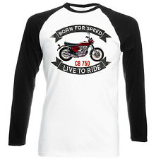HONDA CB 750-Nuova T-shirt Cotone-Tutte le taglie in magazzino