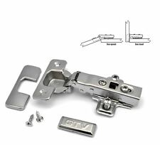 GTV SOFT CLOSE 35mm KITCHEN CABINET DOOR HINGE PLATE + SCREWS