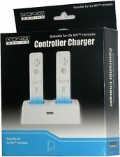 NINTENDO WII DUAL REMOTE CHARGING STATION + 1 RECHARGEABLE BATTERY PACK