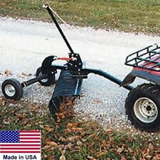 "LANDSCAPE RAKE for ATVs & UTVs - Minimum 12 Hp to Operate - 60"" Working Width"