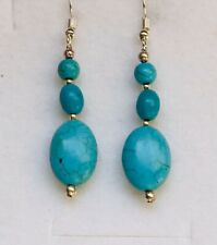 Stunning Turquoise Drop Earrings Version 1