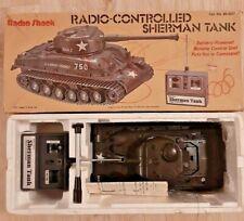 Radio Shack Remote Controlled Sherman Tank