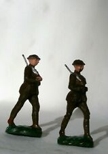 Soldiers LOT of 2 Marching Rifles Japan Composition Wood Fiber