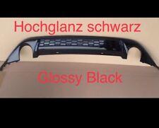 VW Golf 7Gti Difusor GTD Trasero Enfoque de Popa Parachoques VII Brillo Negro