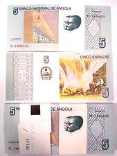 Angola 5 Kwanzas X 50 Pieces - PCS, 2012, P-151a, UNC  from bundle