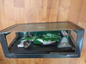 HOT WHEELS 1/18 JAGUAR R1 RACING EDDIE IRVINE 2000 FORMULA 1 F1 CAR REF 26741